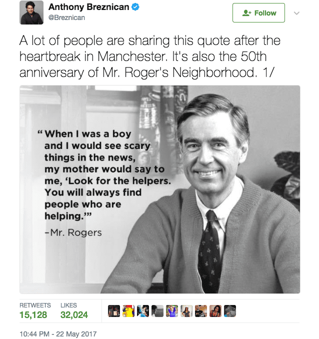 This Man S Personal Encounter With Mr Rogers Proves We Re All Still Neighbors