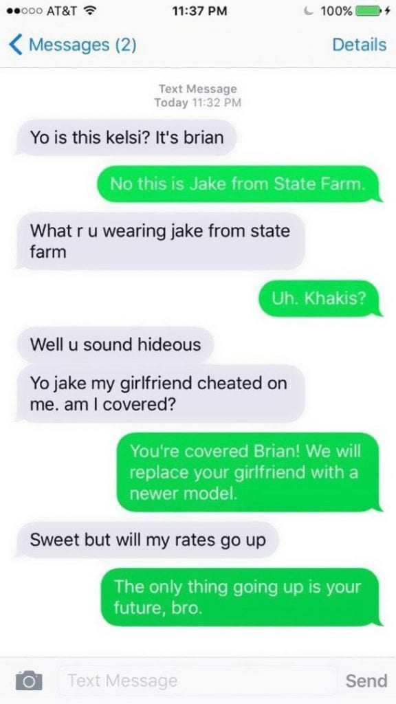 Text messages to send silly 35 Funny